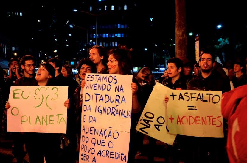 Defesa Publica das Árvores II. Foto: Cíntia Barenho/CEA