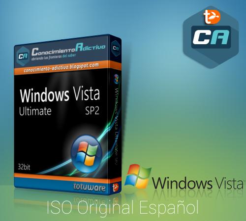 Windows Vista Ultimate SP2 32bit Español