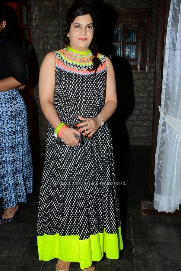 Shailu during the launch of Eat India Company - Kitchen and Bar, in Hyderabad.
