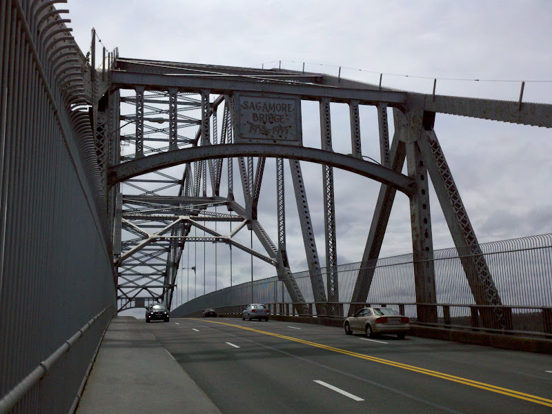Boston to Cape Cod • Sagamore Bridge