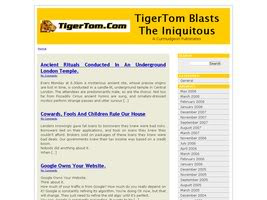 TigerTom's SEO Adsense Pro Wordpress Theme 1.5