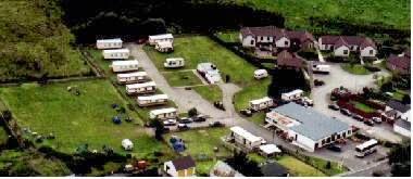 Camping  at Dunroamin Caravan Site