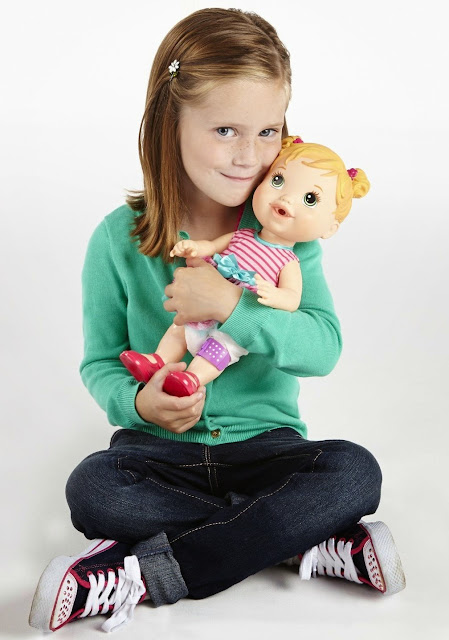 Bộ đồ chơi Búp bê Baby Alive Chăm sóc bé cưng - A5390 độc đáo