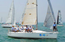 J/109 offshore racer cruiser- sailing China Cup