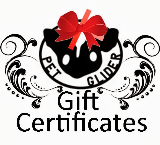 The Pet Glider Gift Certificates