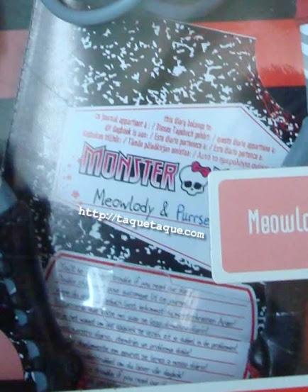 Mis Monster High - Purrsephone y Meowlody, malas, malas, pero preciosas!!!
