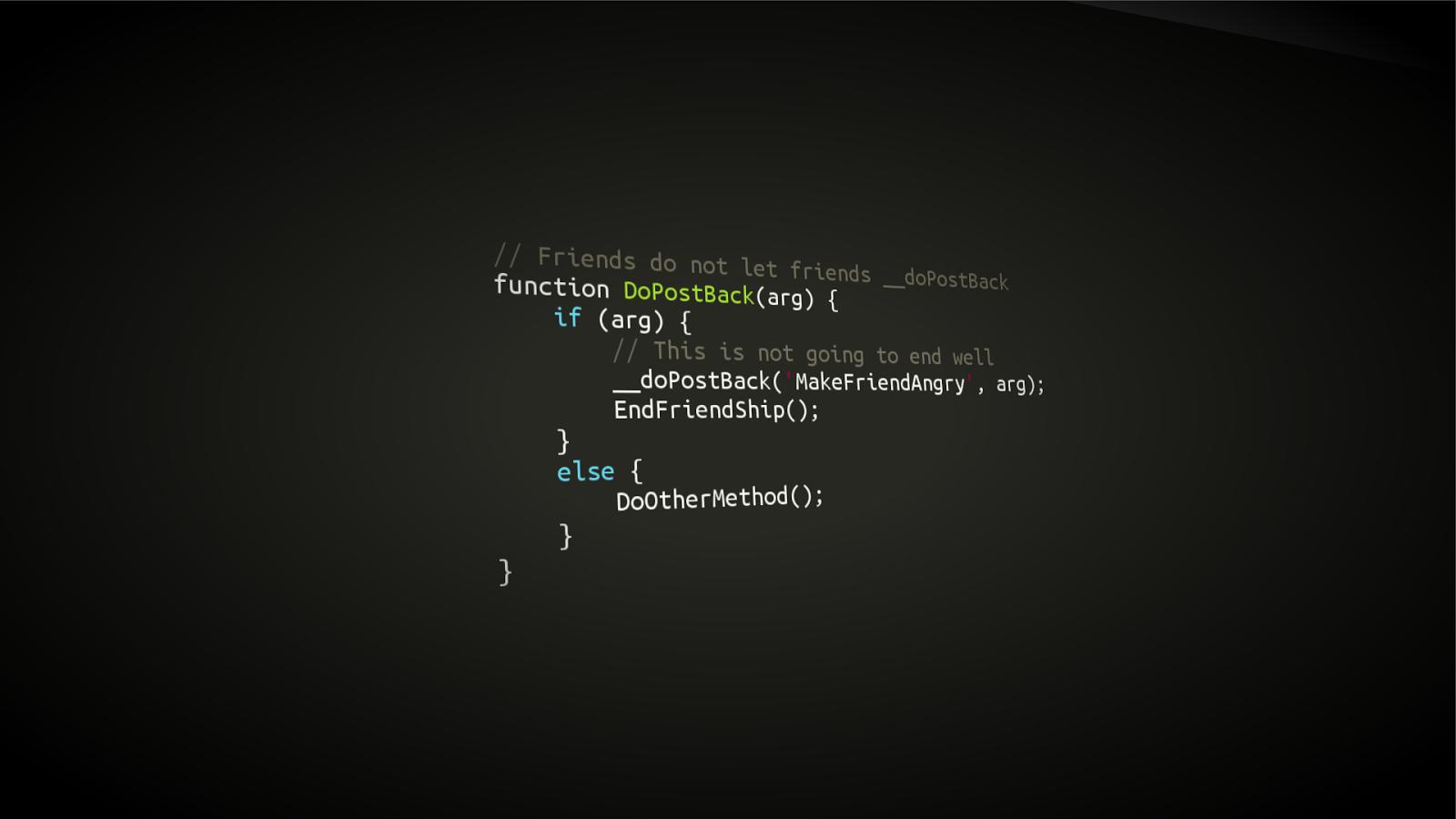 Programming Wallpaper
