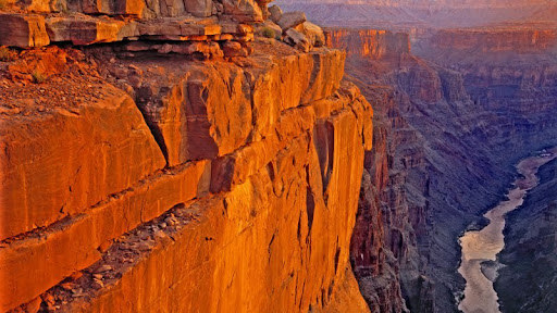 Sunrise Over the Colorado River at Toroweep Point, Grand Canyon National Park Arizona.jpg