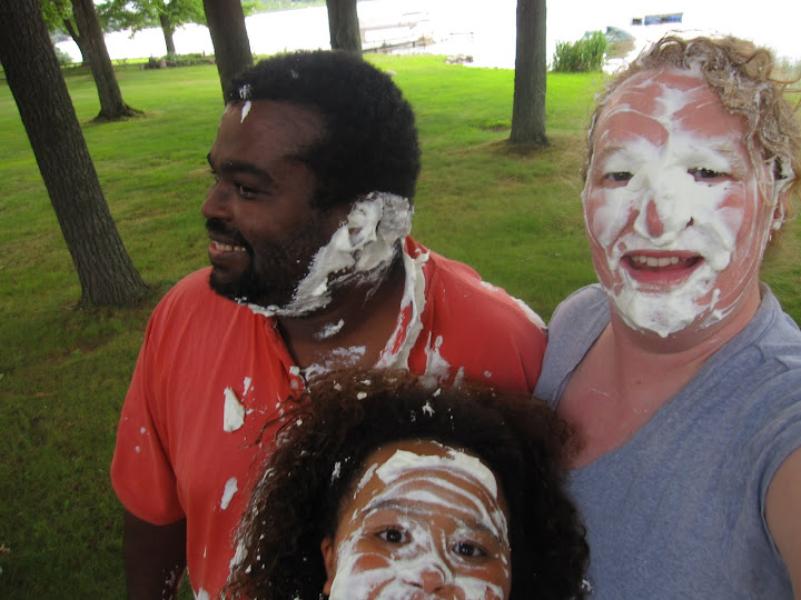 The Great Race - pie fight recreation