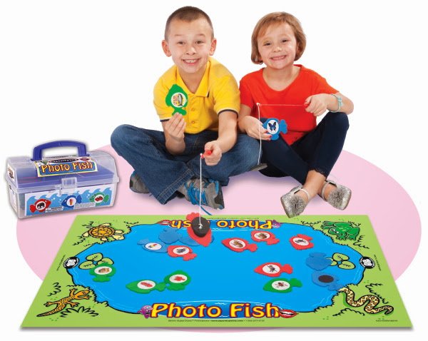 Photo Fish Classifying Magnetic Game from Super Duper Publications