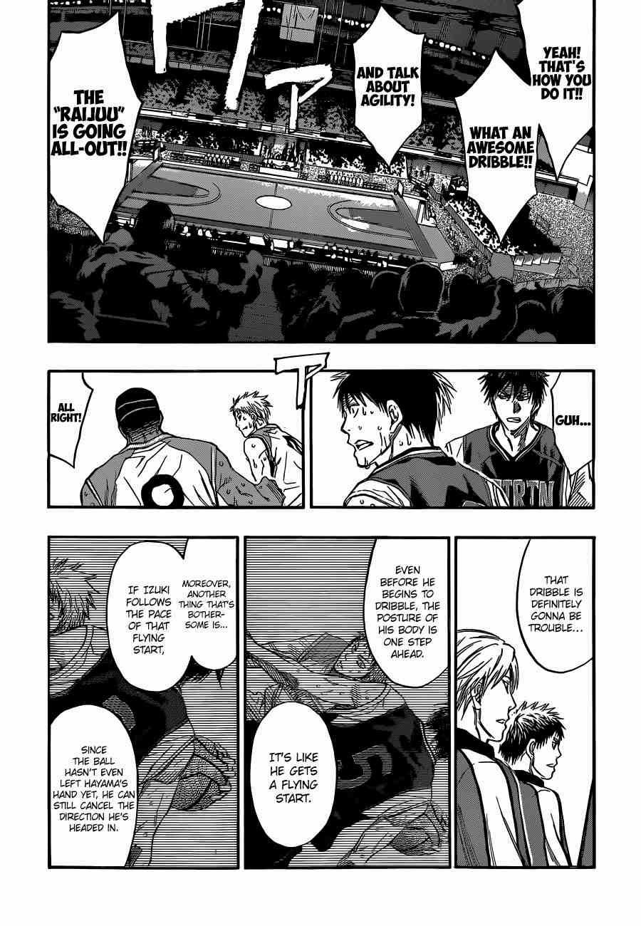 Kuroko no Basket Manga Chapter 253 - Image 09