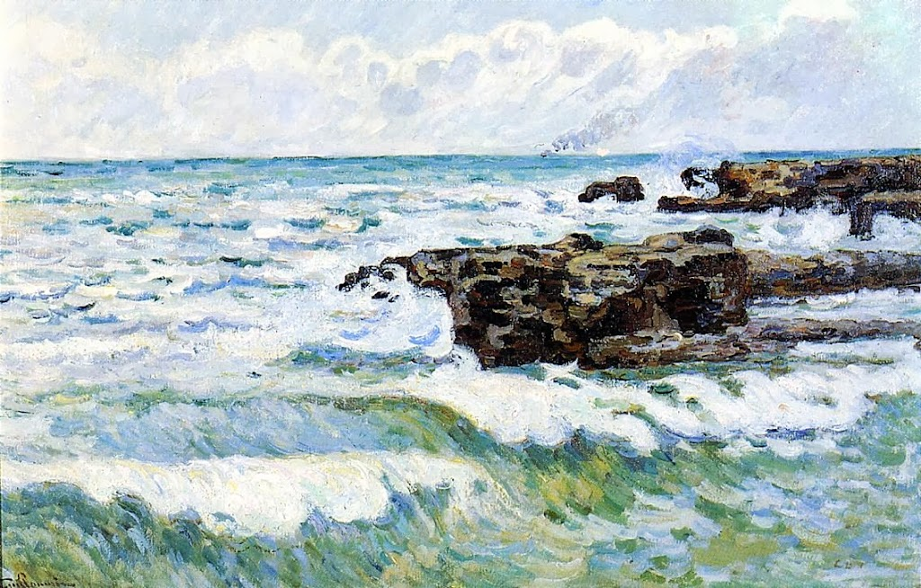 Armand Guillaumin - The Sea at Saint-Palais.