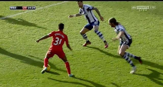 Sterling, WBA - Liverpool