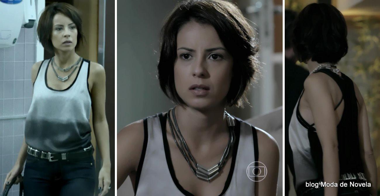 moda da novela Império - look da Maria Clara dia 21 de agosto