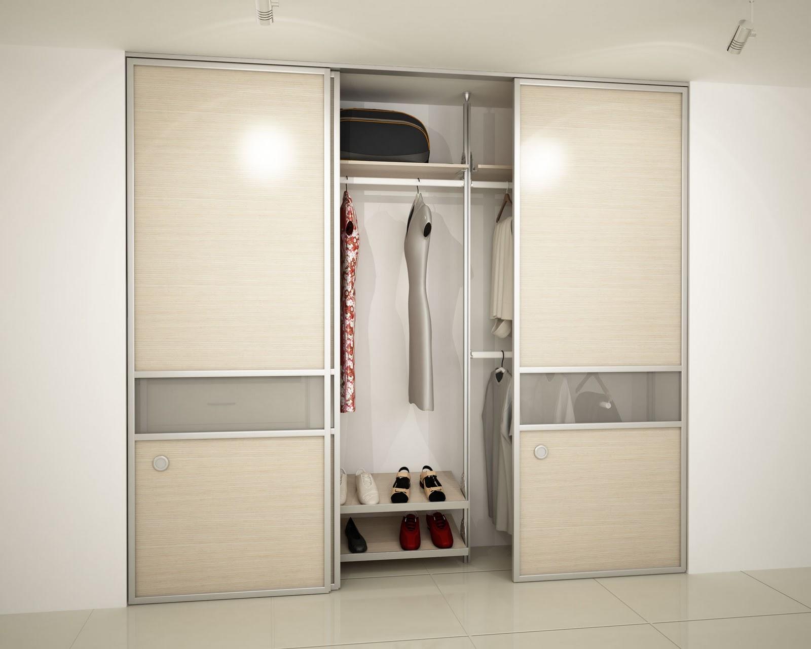 Orbis home closets modulares car interior design for Puertas corredizas