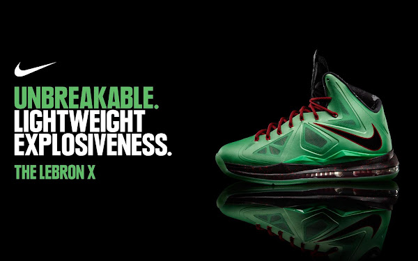Release Reminder Nike LeBron X Jade Goes Global