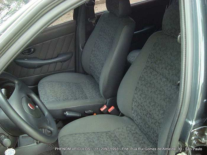 Fiat Palio 2010 Flex Economy Celebration - Interior