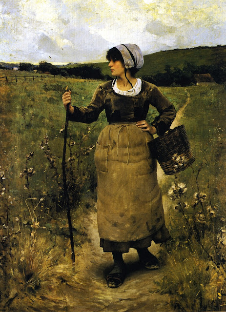 Charles Sprague Pearce - Across the Fields