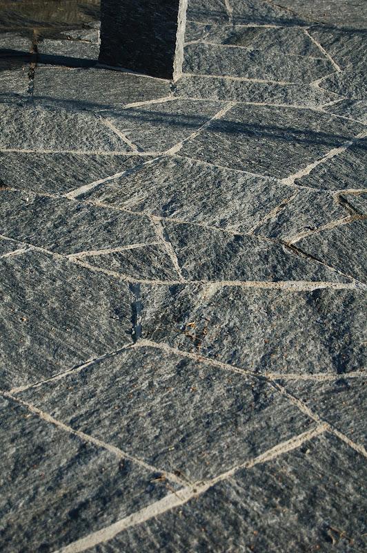 Mosaikplatten wildförmig