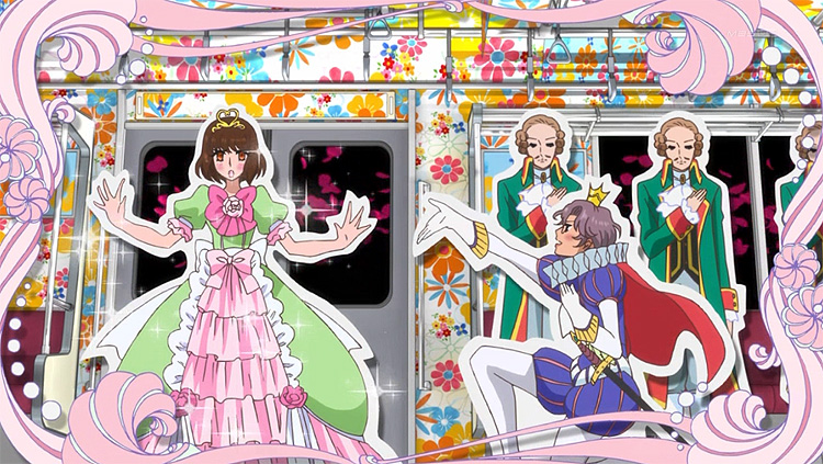 Mawaru Penguindrum Ringo fantasy princess train