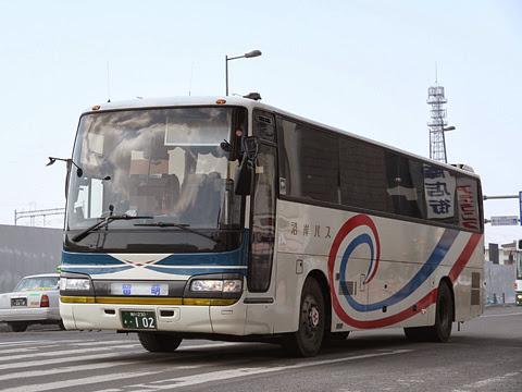 沿岸バス「留萌旭川線」 ・102 旭川駅前にて