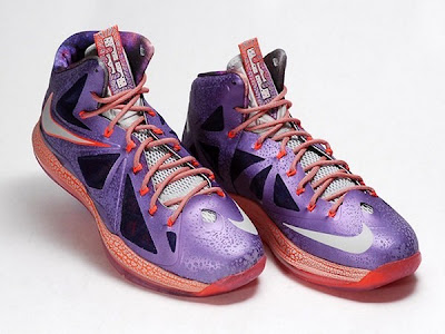 nike lebron 10 gr allstar galaxy 10 02 Closer Look at King James Nike LeBron X Allstar Shoes