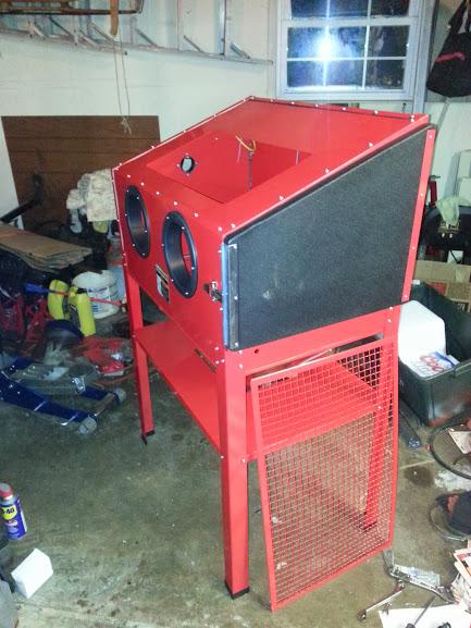 Harbor Freight 40lbs Media Blast Cabinet