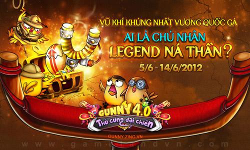 Gunny Online sắp ra mắt vũ khí Legend Ná thần 1