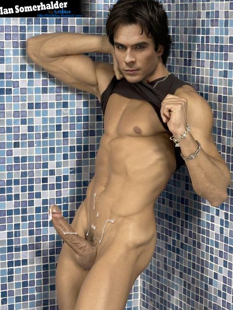 Ian somerholder completamente desnudo