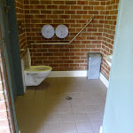 Accessible toilets at Point Plomer