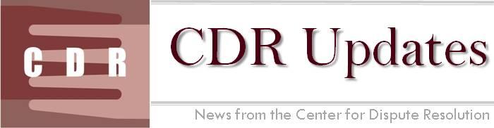 CDR Updates