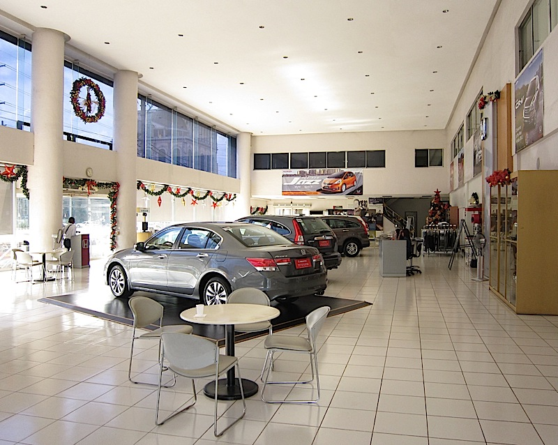Honda Cars Philippines showroom