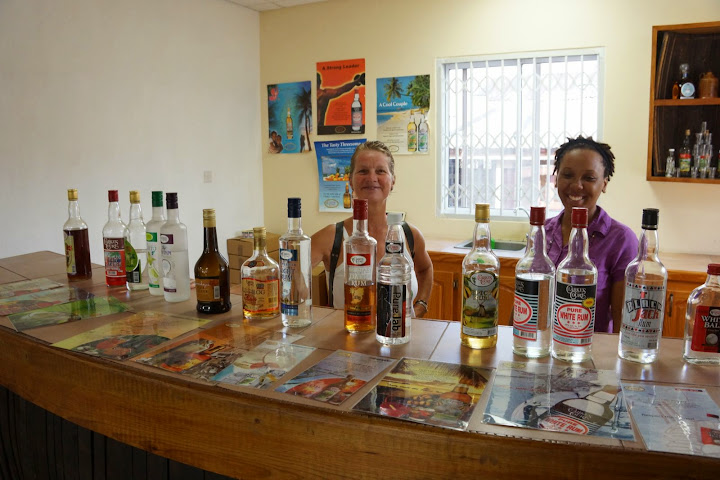 Rum tasting Grenada