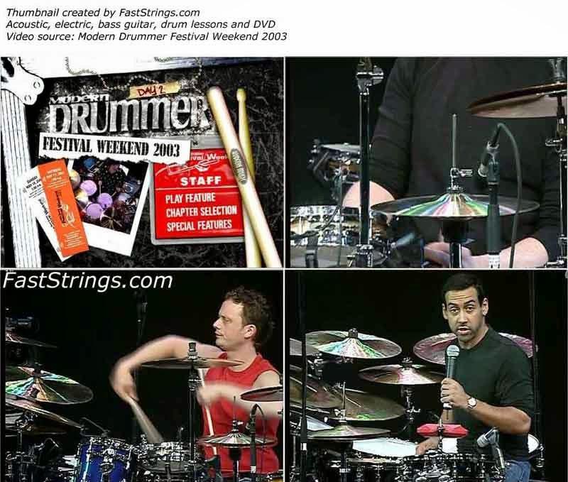 Modern Drummer Festival 2003