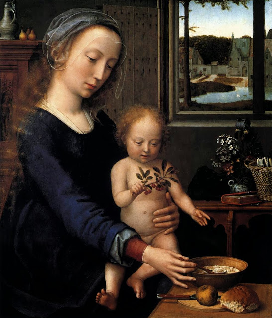 Ambrosius Benson - Virgin with Child