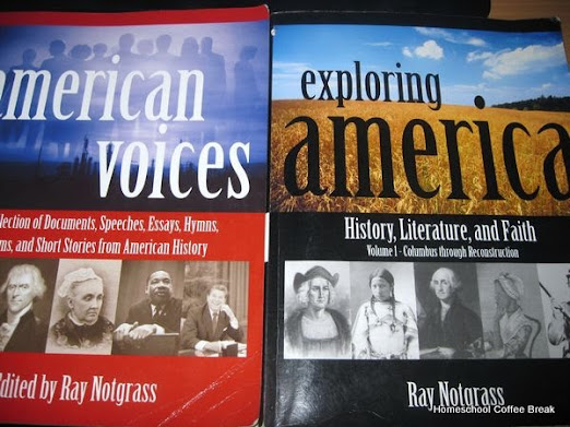 Exploring America from Notgrass, featured on Exploring History and Geography (Virtual Curriculum Fair 2016) on Homeschool Coffee Break @ kympossibleblog.blogspot.com
