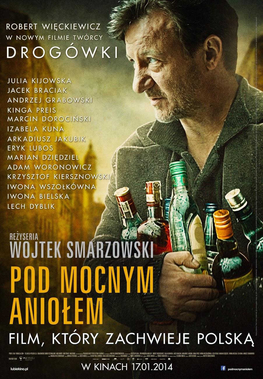 Polski plakat filmu 'Pod Mocnym Aniołem'