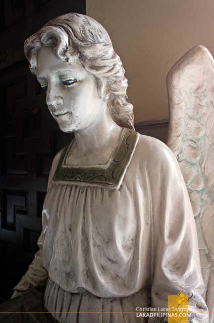 Marble Angel at Sto. Domingo Church in Quezon City