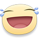 Laughing Weeping Facebook sticker