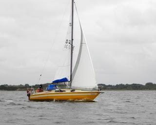 Vallensbæk Sejlerskole deltog i 2010 med to både. Her er Salta 26 Ophelia