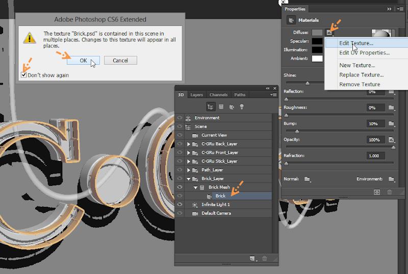 Photoshop - เทคนิคการสร้างตัวอักษร 3D Glowing แบบเนียนๆ ด้วย Photoshop 3dglow37