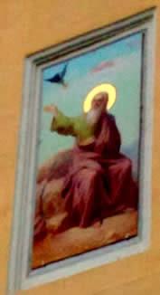 Ворон приносит пищу библейскому пророку Илии в пустыню.jpg