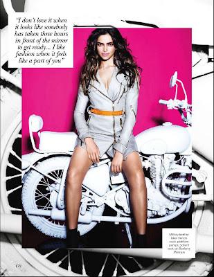 Deepika Padukone on Vogue Magazine Cover - February 2011