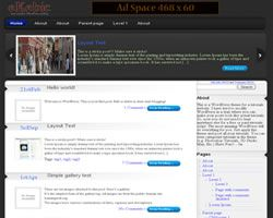 Wordpress themes vBloger
