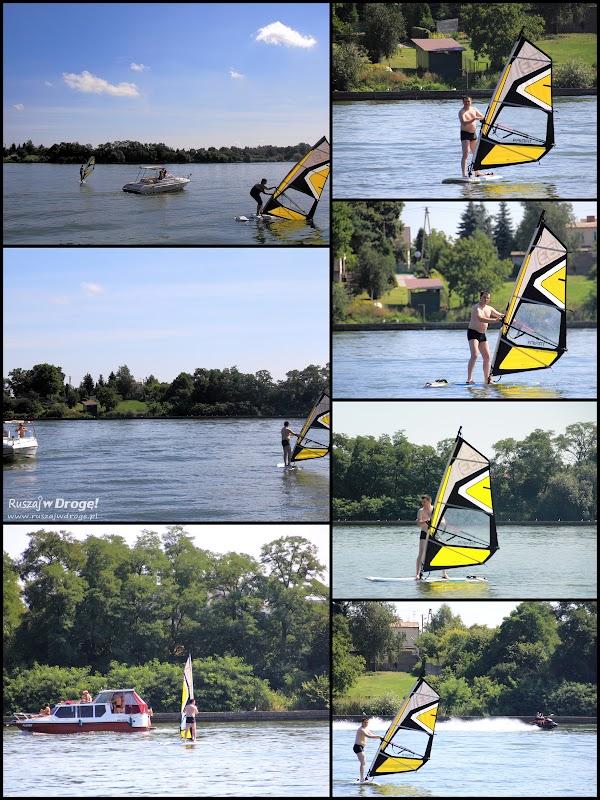 Windsurfing - kolejny konik Maćka