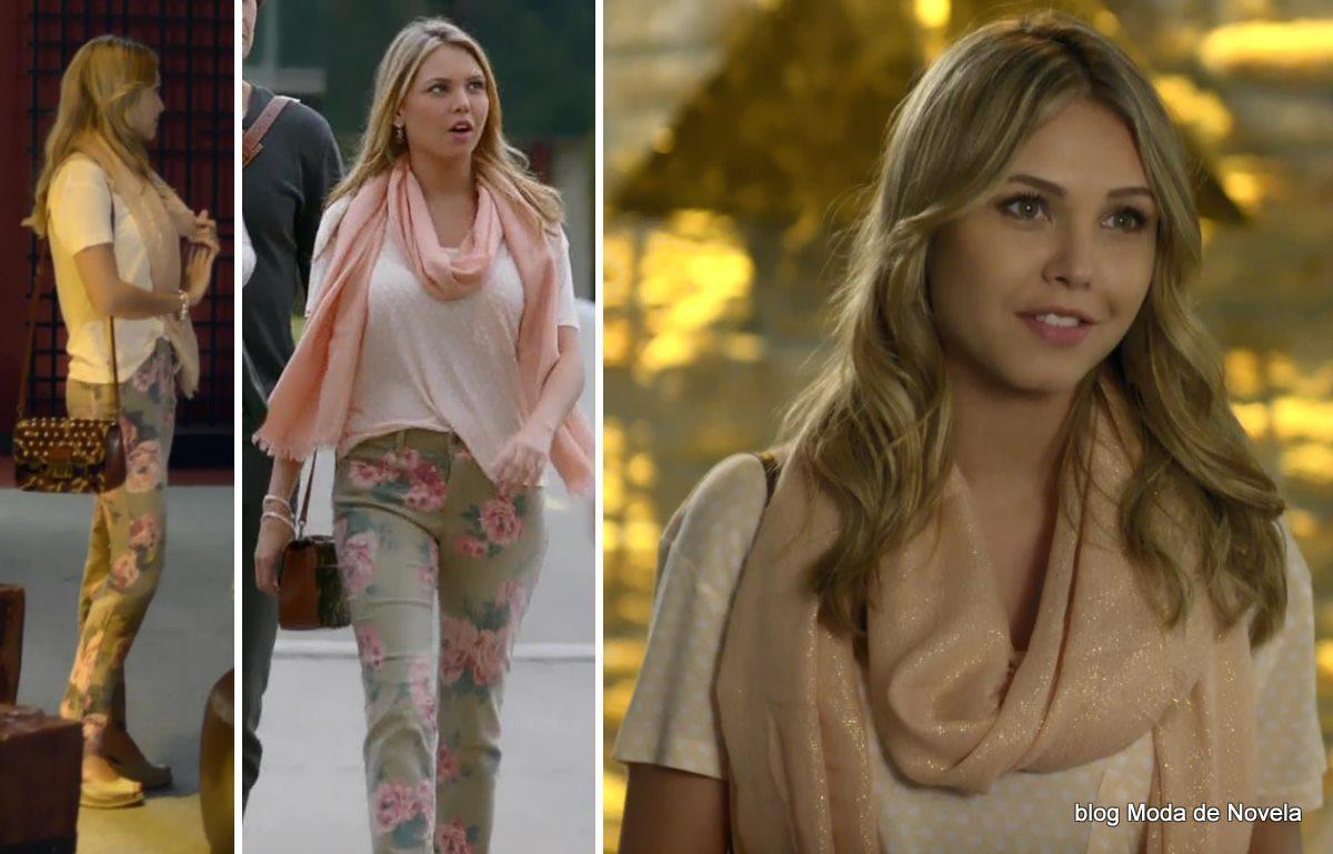 moda da novela Em Família - look da Lívia dia 28 de maio