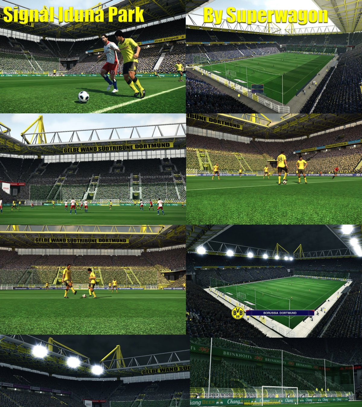 pes 2011 borrusia dortmund signal iduna park by superwagon pespatchs. Black Bedroom Furniture Sets. Home Design Ideas