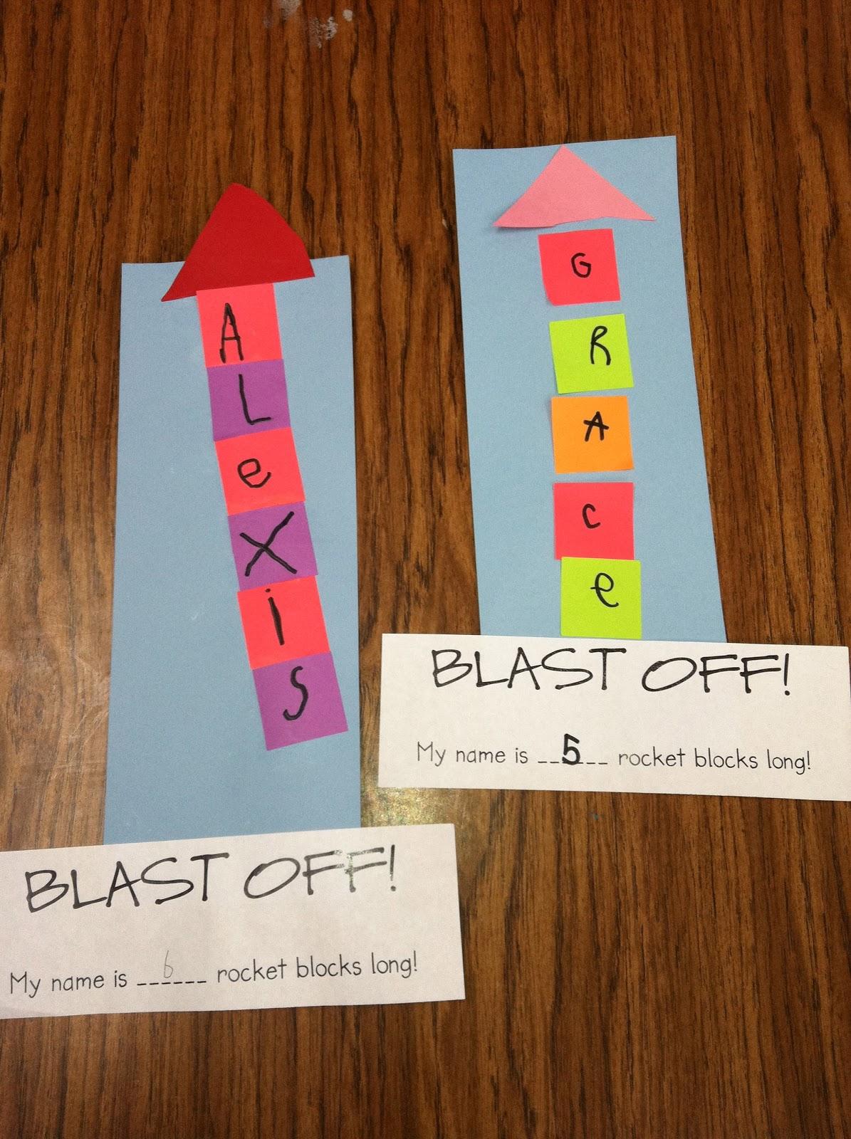 Ms. Solano's Kindergarten Class: Painted Rocket Ships ...