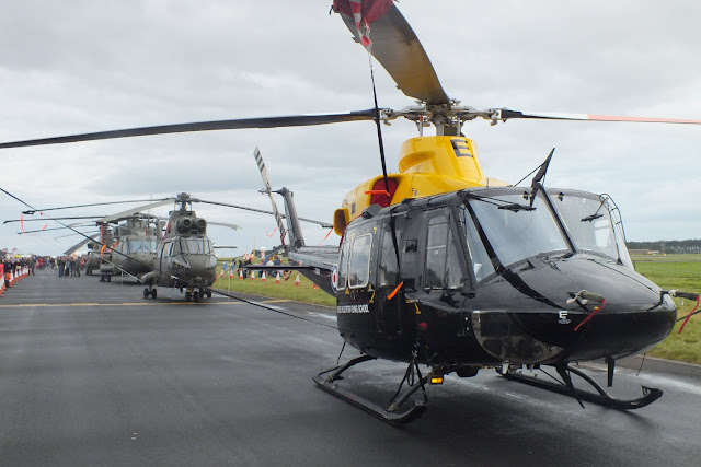 Helicopters at Leuchars Airshow