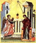 annunciazione bizantina raggio